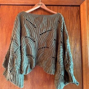 Zaful Poncho Sweater